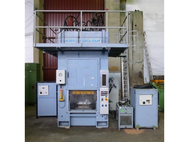 Edelhoff hydraulische Doppelständer (zieh) presse HZP 160 - 1