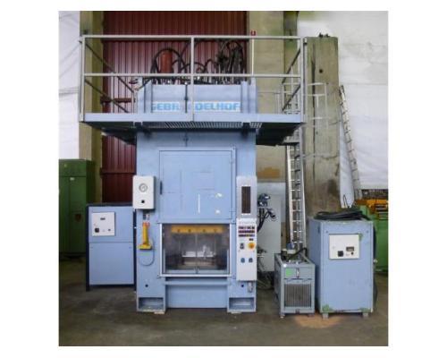Edelhoff hydraulische Doppelständer (zieh) presse HZP 160 - Bild 1