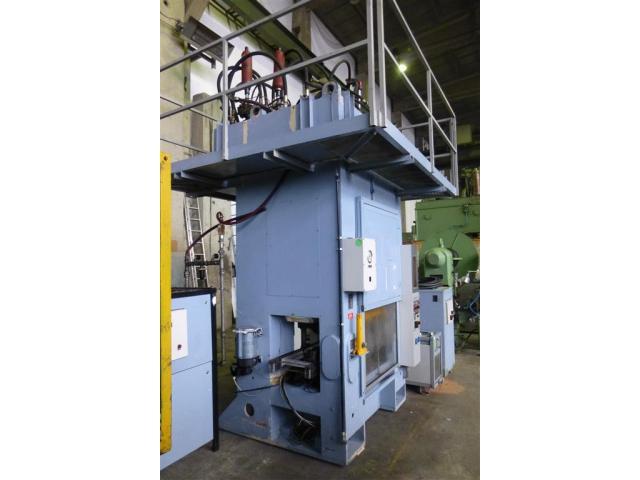 Edelhoff hydraulische Doppelständer (zieh) presse HZP 160 - 2