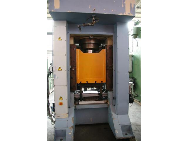 Edelhoff hydraulische Doppelständer (zieh) presse HZP 160 - 4