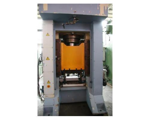 Edelhoff hydraulische Doppelständer (zieh) presse HZP 160 - Bild 4