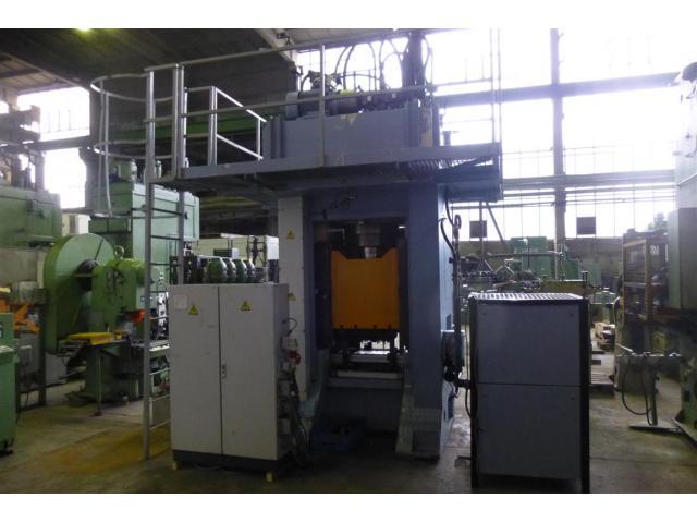 Edelhoff hydraulische Doppelständer (zieh) presse HZP 160 - 5