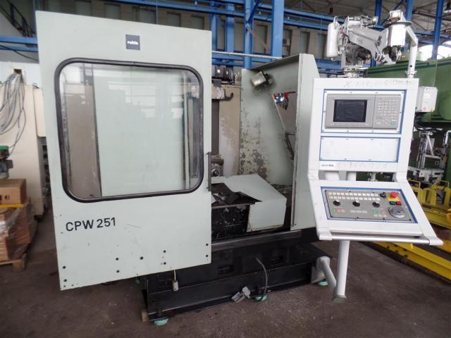 VEB Ruhla Bearbeitungszentrum - Horizontal CPW 251 - 4-Achsen - 1