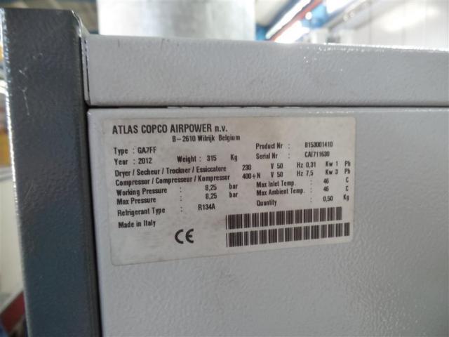 Atlas Copco Schraubenkompressor GA7 FF - 5