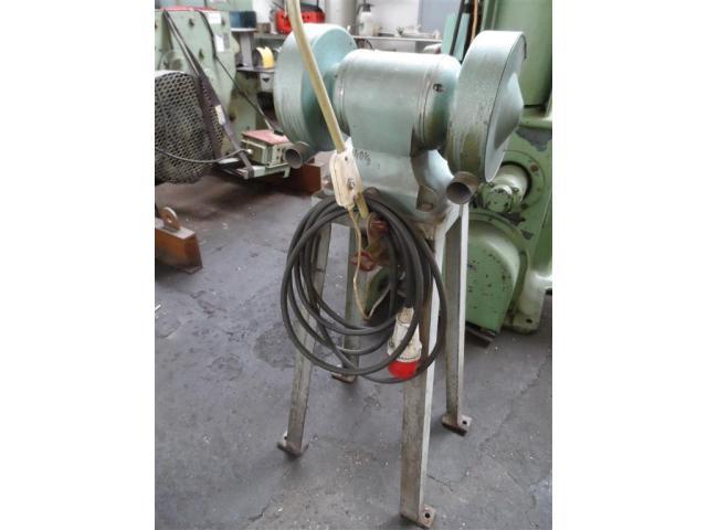 WMW Galvanotechnik Doppelschleifbock DS 200/1 - 5