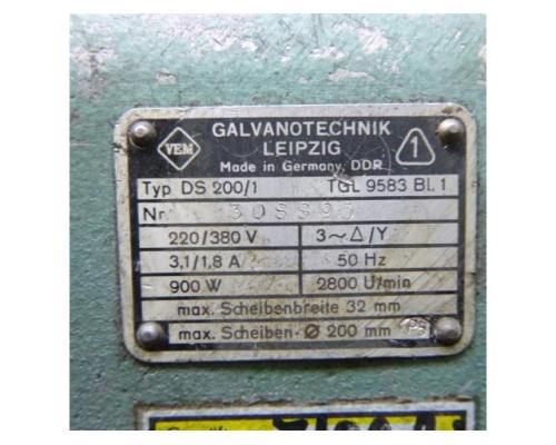 WMW Galvanotechnik Doppelschleifbock DS 200/1 - Bild 6
