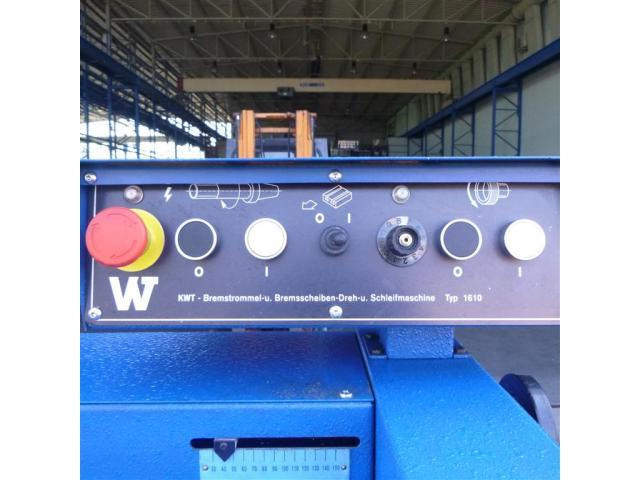 Piccinotti Bremstrommeldreh- und Schleifmaschine 1610 PMD Beta K - 6