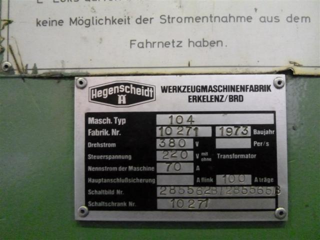 Hegenscheid MFD Radsatzdrehmaschine U 2000-150 - 5