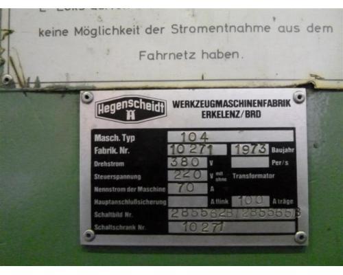 Hegenscheid MFD Radsatzdrehmaschine U 2000-150 - Bild 5