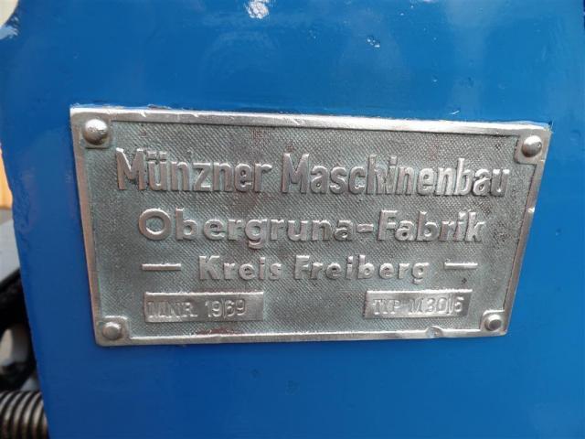 Münzner Maschinenbau Behälterdrehvorrichtung M30/5 - 6
