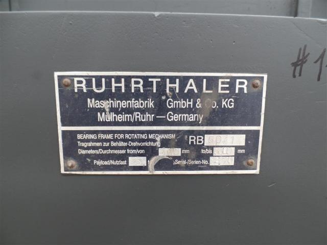Ruhrthaler Behälterdrehvorrichtung RB 50-1 - 6