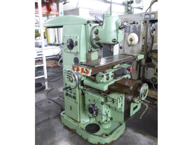 Stankoimport Fräsmaschine - Universal 6H80 - 2