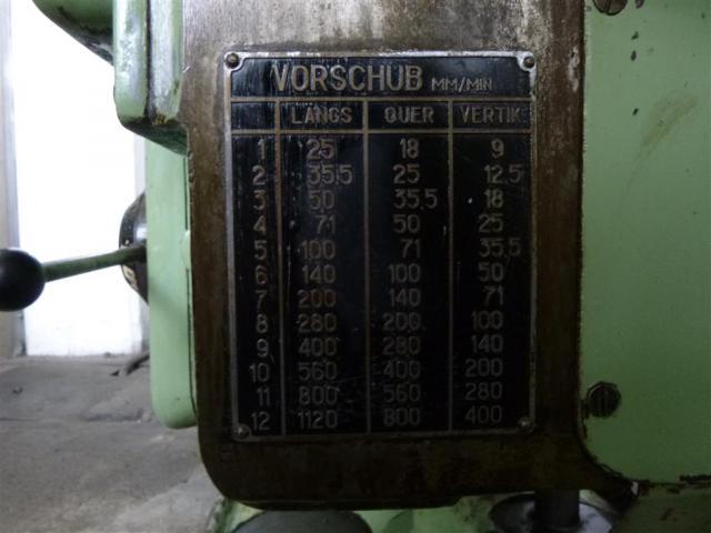 Stankoimport Fräsmaschine - Universal 6H80 - 4