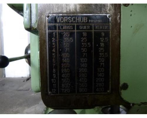 Stankoimport Fräsmaschine - Universal 6H80 - Bild 4