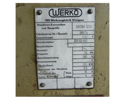 VEB WERKÖ Sägeblattschärfmaschine SWSKH 1250 - Bild 2