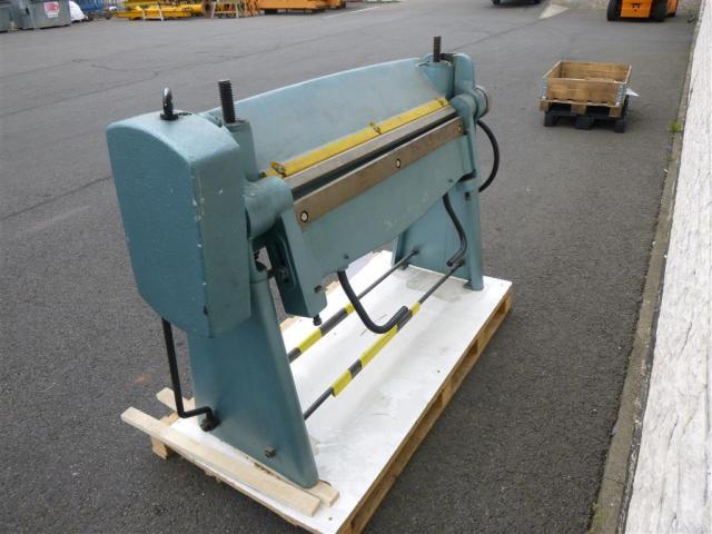 WMW Schwenkbiegemaschine SBM 1000-1 - 1
