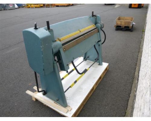 WMW Schwenkbiegemaschine SBM 1000-1 - Bild 1