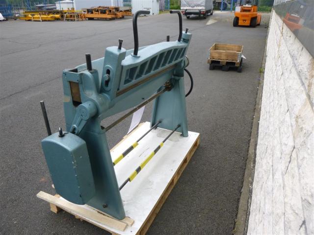 WMW Schwenkbiegemaschine SBM 1000-1 - 2
