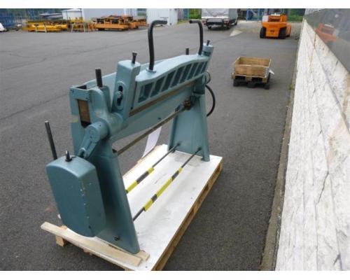 WMW Schwenkbiegemaschine SBM 1000-1 - Bild 2