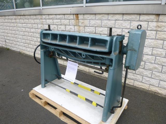 WMW Schwenkbiegemaschine SBM 1000-1 - 3
