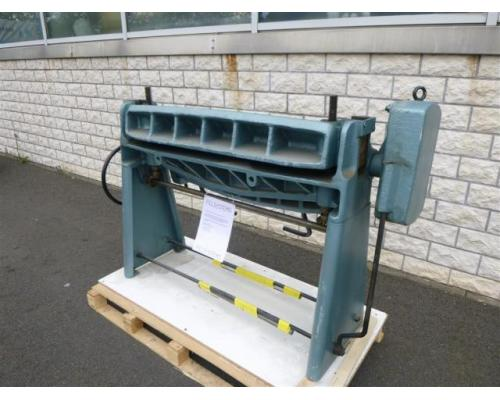 WMW Schwenkbiegemaschine SBM 1000-1 - Bild 3