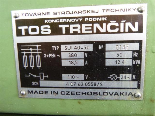 TOS Leit- und Zugspindeldrehmaschine SUI 50-1000 - 4