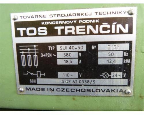TOS Leit- und Zugspindeldrehmaschine SUI 50-1000 - Bild 4