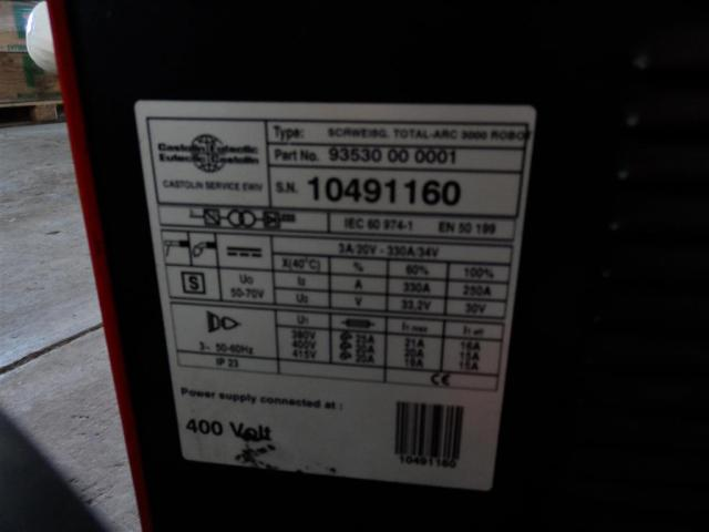 Castolin Schweißanlage Total ARC 3000 ROBOT - 5