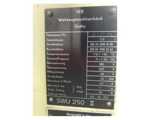 WMW GOTHA Werkzeugschleifmaschine SWU 250 II - Bild 5