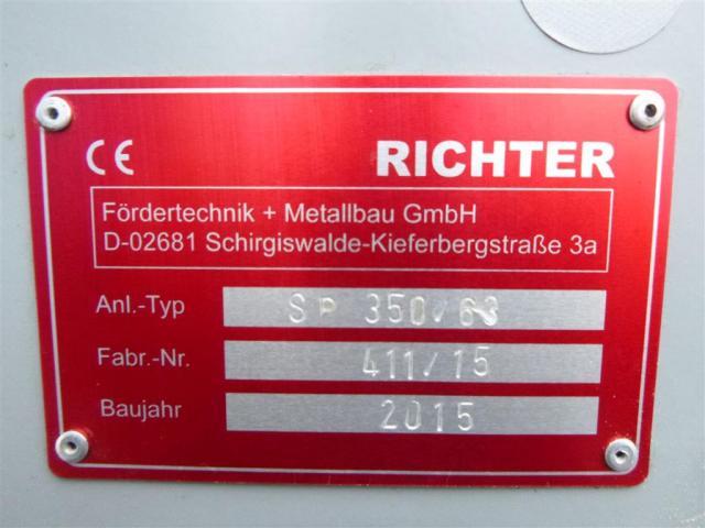 Richter Fördertechnik Späneförderer SP 350-63 - 3