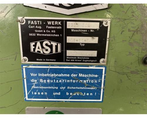 Fasti Dreiwalzen - Blechbiegemaschine 1026-11-0,88 - Bild 4
