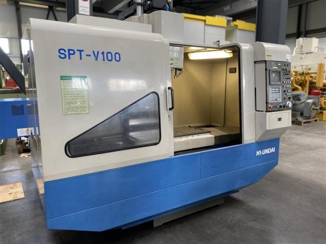 Hyundai Bearbeitungszentrum - Vertikal SPT-V100 - 1