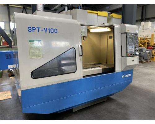 Hyundai Bearbeitungszentrum - Vertikal SPT-V100 - Bild 1