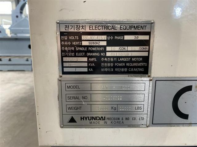 Hyundai Bearbeitungszentrum - Vertikal SPT-V100 - 4