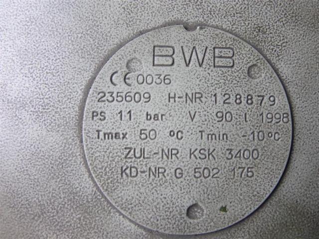 Schneider Druckluft Luftkessel BWB 90 - 3