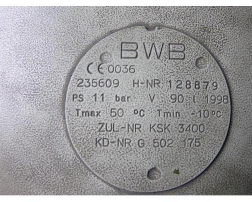 Schneider Druckluft Luftkessel BWB 90 - Bild 3