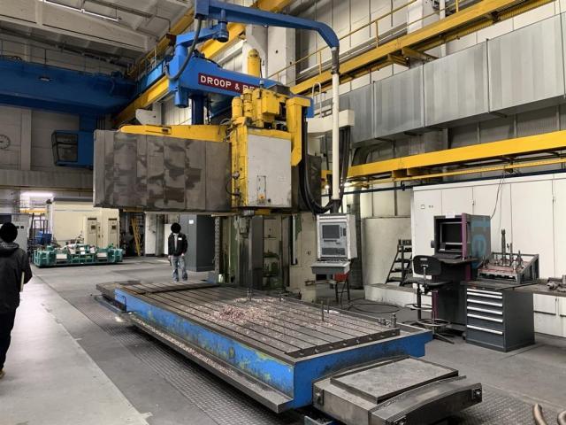 Droop & Rein Bettfräsmaschine - Vertikal LFAS 1800Kc - 1
