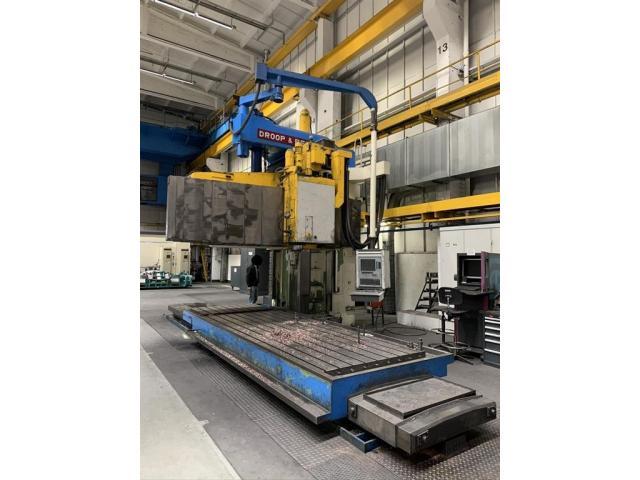 Droop & Rein Bettfräsmaschine - Vertikal LFAS 1800Kc - 2