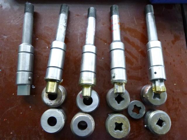 Salvagnini Abkantwerkzeuge div. Werkzeugformen - 6