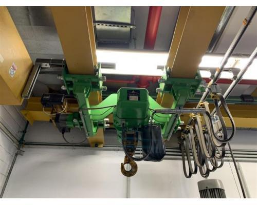 Stahl Brückenlaufkran - Zweiträger ZD-A 20-5,0 E - Bild 2