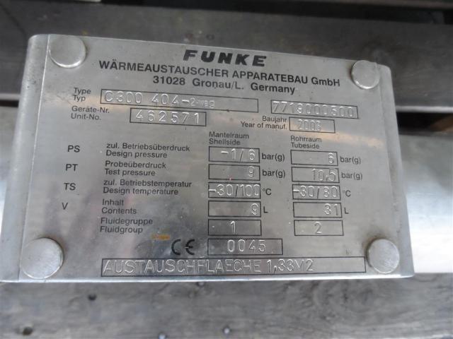 Funke Wärmetauscher C300 404-2 Weg - 6