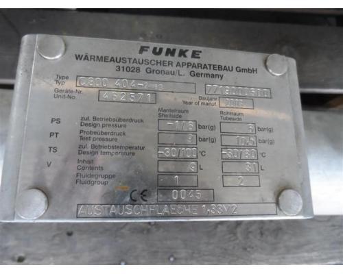 Funke Wärmetauscher C300 404-2 Weg - Bild 6