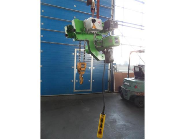 Stahl Brückenlaufkran - Einträger T510-10/1,7 M2/1 - 4