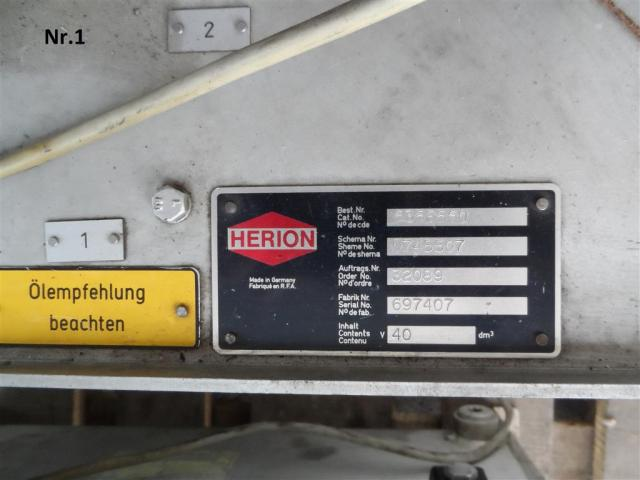 Herion Hydraulikaggregat - - 4