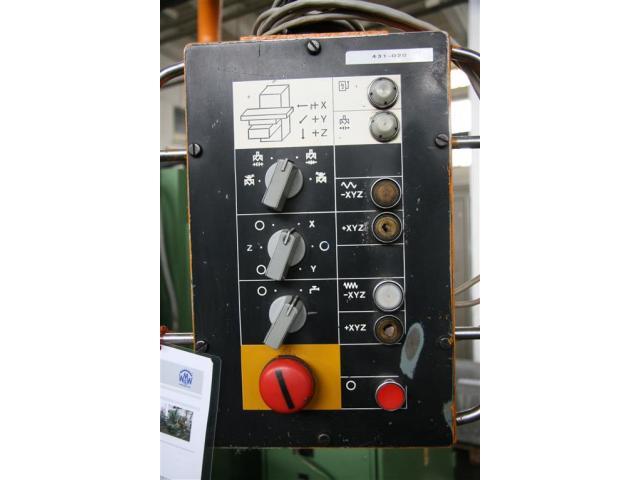 WMW Heckert Fräsmaschine - Vertikal FSS 315 V/2 - 5