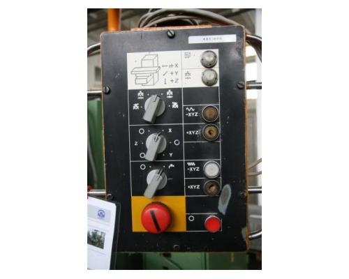 WMW Heckert Fräsmaschine - Vertikal FSS 315 V/2 - Bild 5
