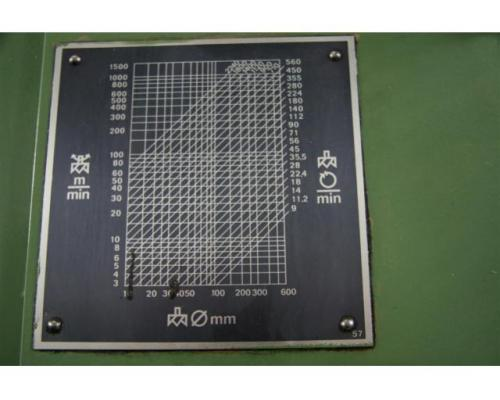 WMW Heckert Fräsmaschine - Vertikal FSS 315 V/2 - Bild 6