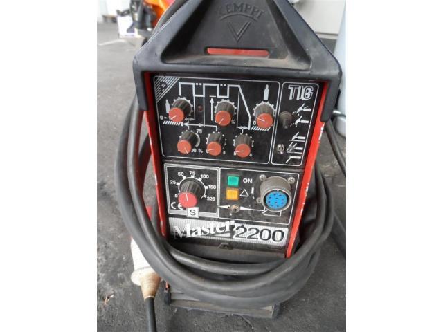 Kemppi Schweißanlage Master 2200 - 2