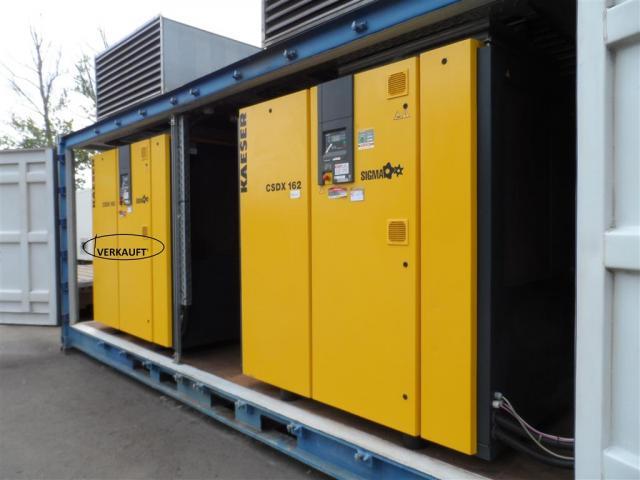 Kaeser Schraubenkompressor CSDX 162 - 1