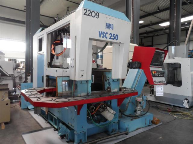 EMAG Vertikaldrehmaschine VSC 250 - 6